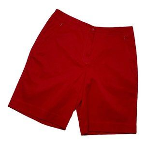 Tail Golf Red Woman's Shorts Size 4 Casual Bermuda